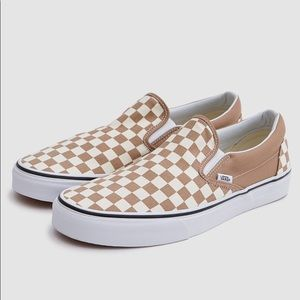 Vans Checkerboard Slip-On - Tiger's Eye
